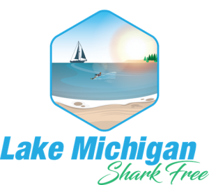 Lake Michigan Shark-Free Logo